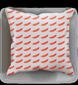 Firebird Cushion – Linen, 12″x12″